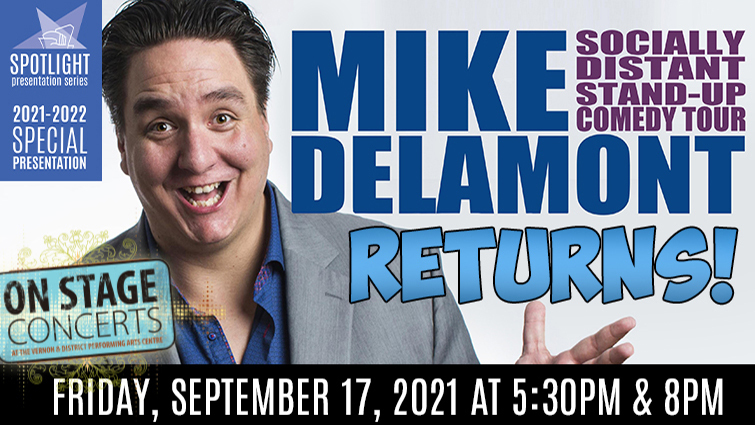 Mike Delamont - Socially Distant Stand Up Comedy Tour
