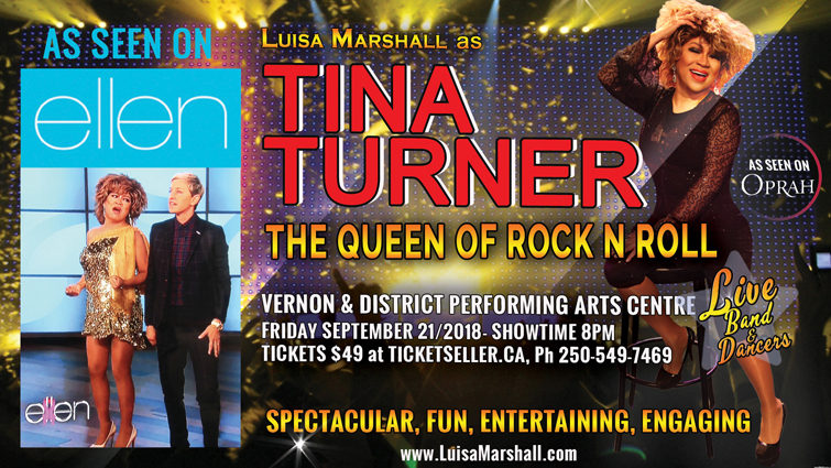 TINA TURNER - The Queen of Rock N' Roll Show