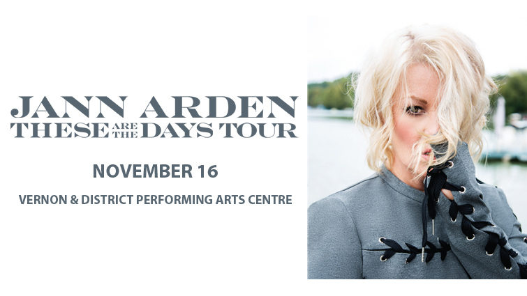 Jann Arden: These are the Days Tour