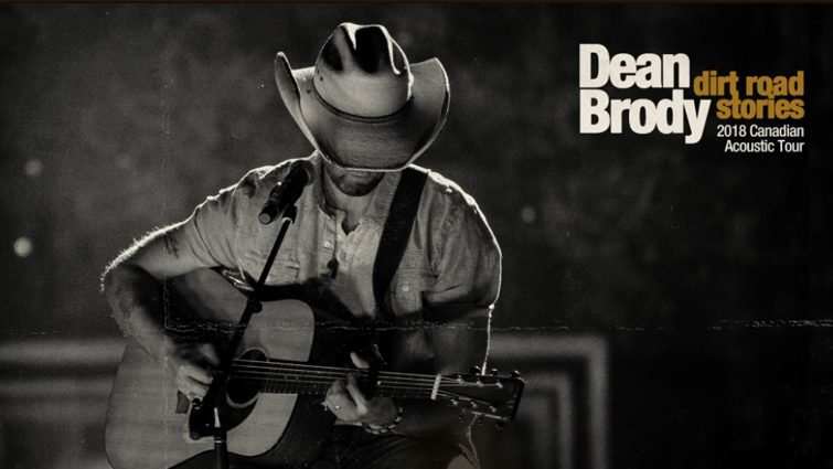 Dean Brody: Dirt Road Stories Acoustic Tour