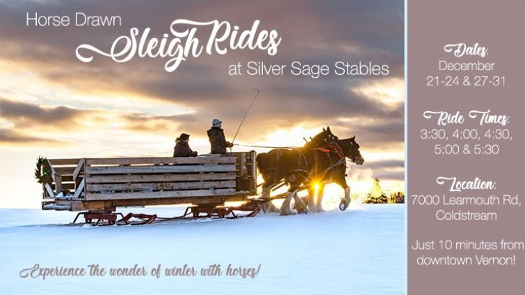 Sleigh Rides at Silver Sage Stables