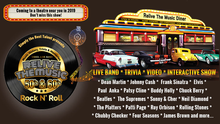 RELIVE the Music 50'S & 60'S Rock N' Roll