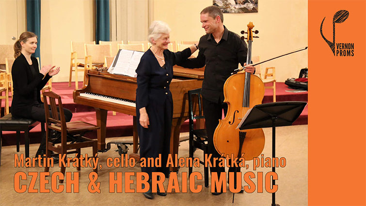 Czech & Hebraic Music for Cello and Piano