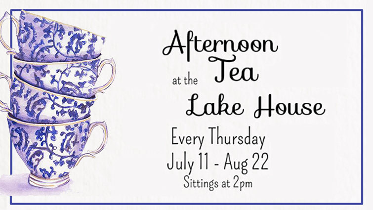 Afternoon Tea at the Lakehouse