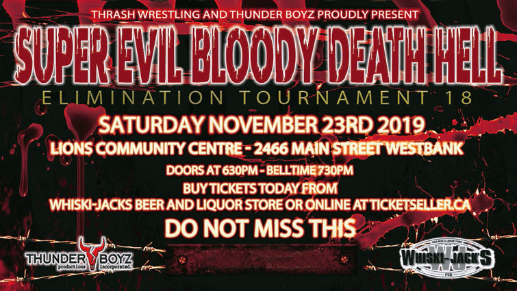 Super, Evil, Bloody, Death, Hell Elimination Tournament 18