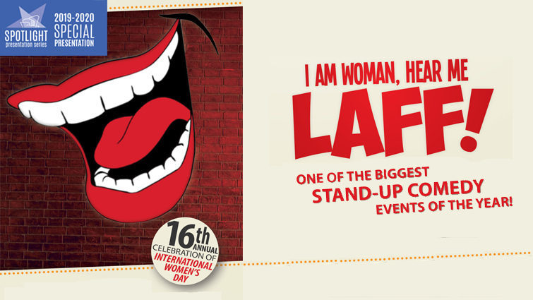 I Am Woman, Hear Me Laff!