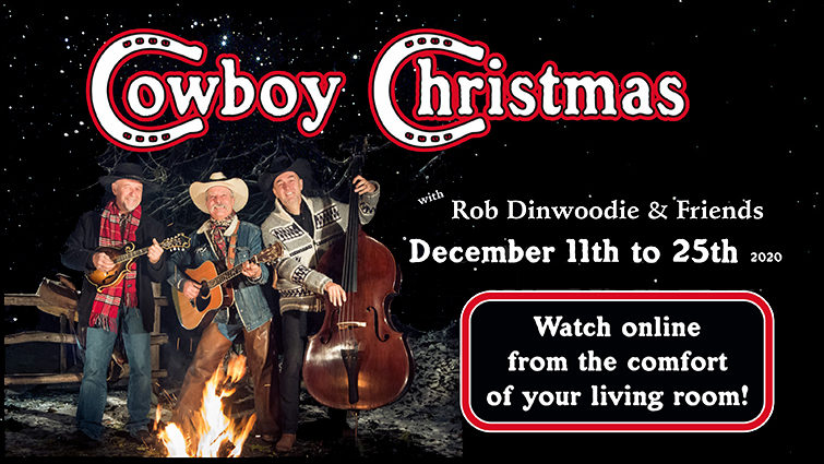 "Rob Dinwoodie ""Cowboy Christmas"" Streaming Event"