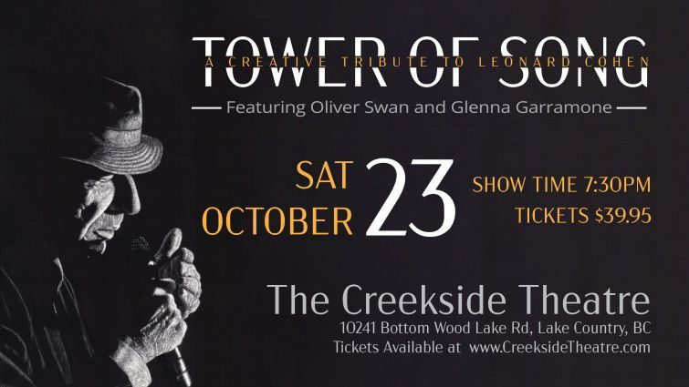 The Tower of Song...A tribute To Leonard Cohen