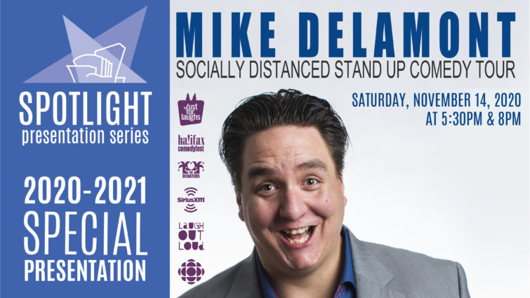 Mike Delamont's Socially Distanced Stand Up Comedy Tour