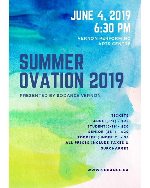 Summer Ovation 2019