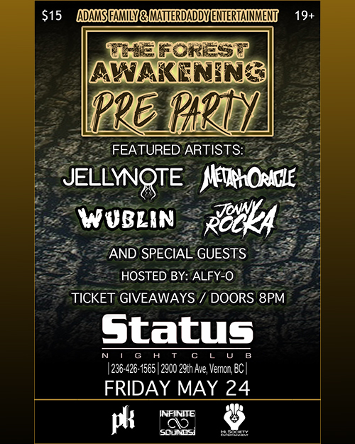 Forest Awakening MF Pre-Party