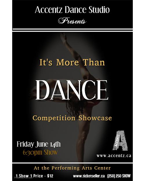 Accentz Dance - 'It's More Than Dance '�