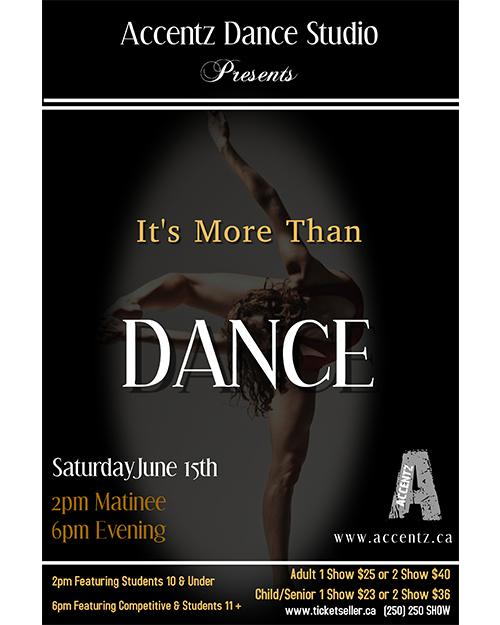 "Accentz Dance - ""It's More Than Dance"""